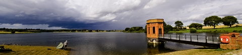 Sywell resevoir panoramic